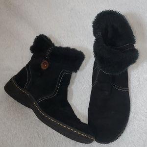 Baretraps Black Suede Booties